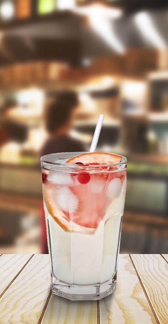 The BOSS straw drink demo